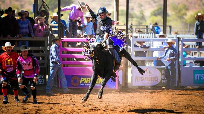 RIGHT: Gympie bull rider Cody Mann will be in action at the Gympie Showgrounds this Saturday night.