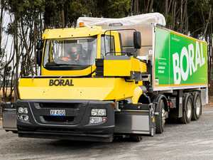 Boral unveils new road surfacing truck that makes job safer