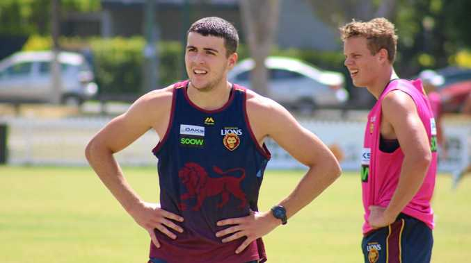 TALENT: Brisbane Lions half-back James Madden will be in Gatton next week as part of the AFL Community Camp Program.