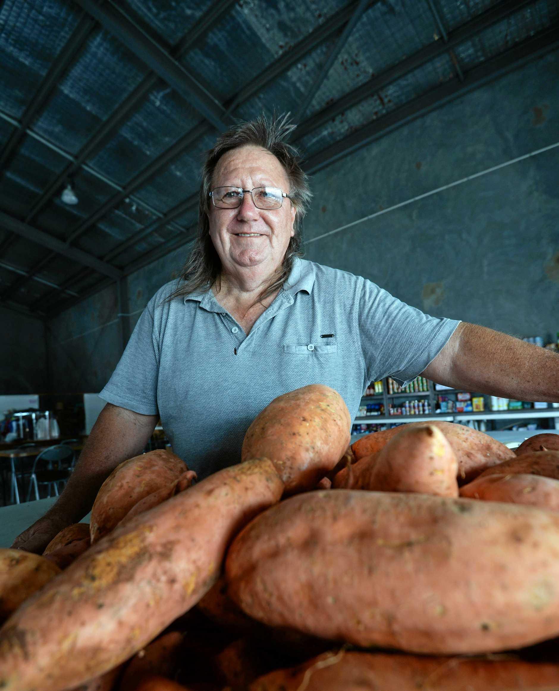 Rockhampton Foodbank manager Mal Holmes.