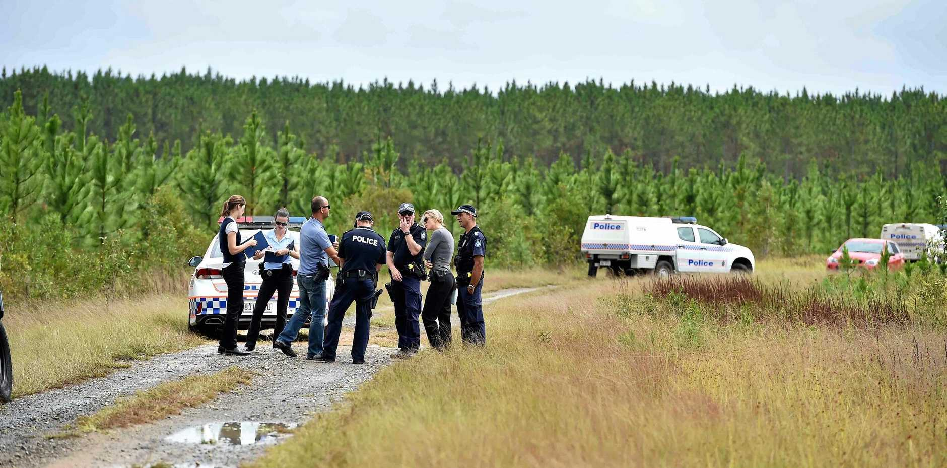 A father killed his six-month-old son on this road at Coochin Creek.