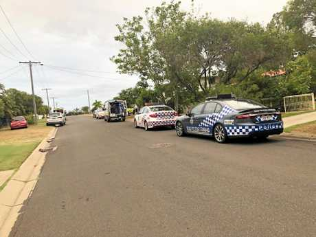 Two people are believed to have been stabbed at a Gracemere address this afternoon.