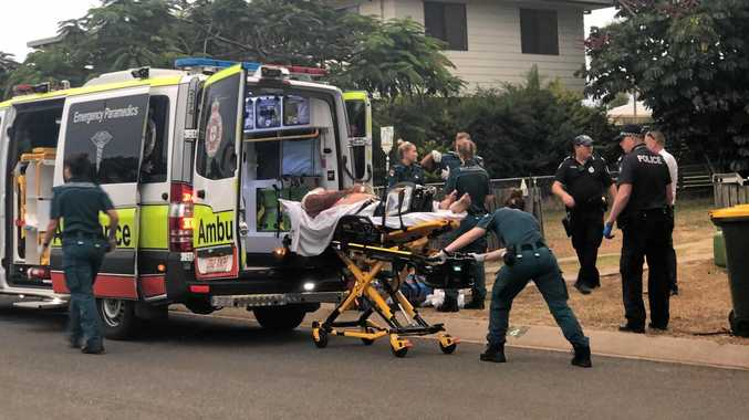 STABBING: Daniel John Shields, 47, has been charged with one count of attempted murder after allegedly stabbing Raymond Stephen Jarvis at a Gracemere address February 6.