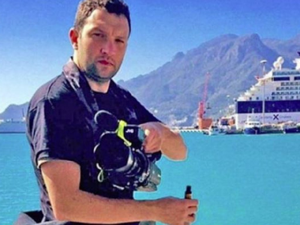 TV producer Tallmadge D'elia was killed in a fire started by an exploding e-cigarette. Picture: Facebook