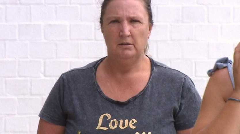 Jailed.... Noeline Childschalked up $20,000 on dead woman's bank card. Picture: 9 News