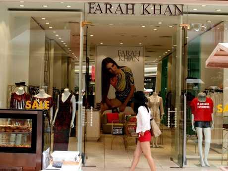 The earrings were allegedly stolen from the exclusive Farah Khan shop in  Seminyak. Picutre:  Lukman S.Bintoro