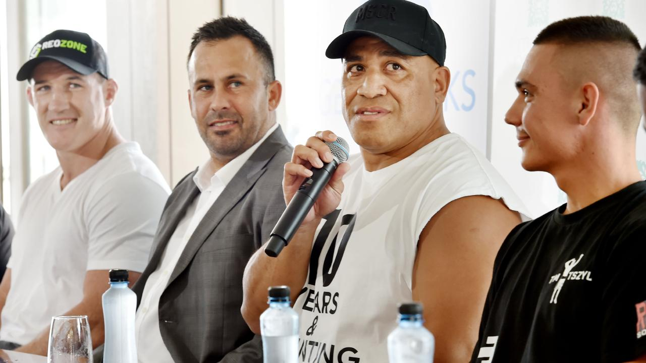 Hopoate was full of confidence about his ability. (AAP Image/Troy Snook)