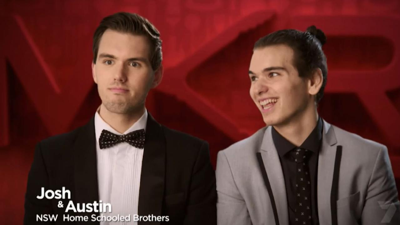 Josh and Austin aren't worried about offending rival teams on MKR.