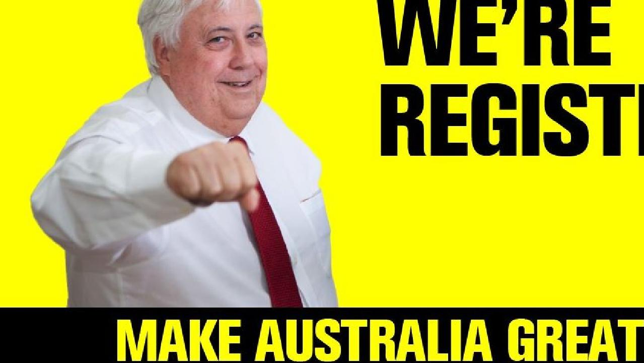 Clive Palmer has made a splash with a number of bold claims and noisy ads since last year.