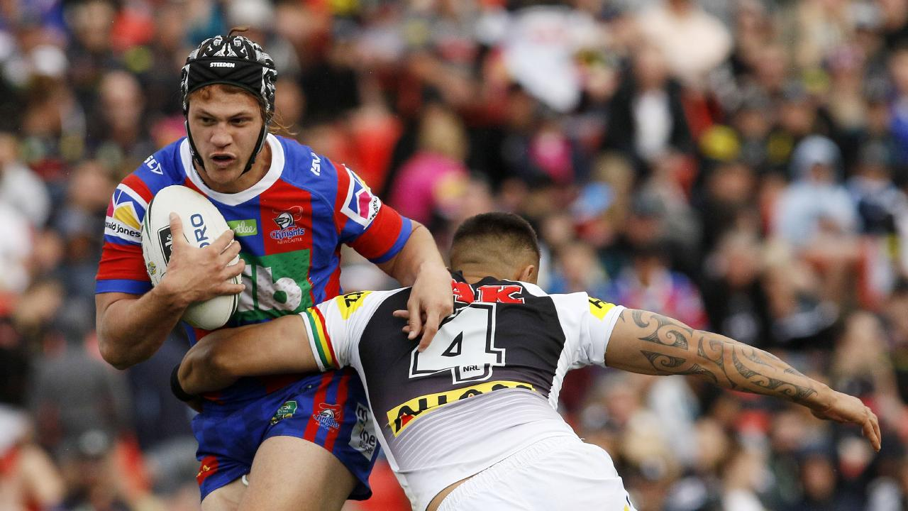 Ponga had a breakout season in his first year at the Knights in 2018. Picture: AAP