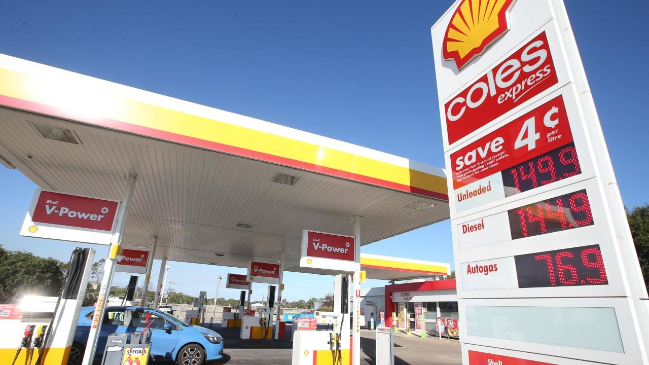 Coles Express is bringing prices down, down. Picture: Glenn Ferguson