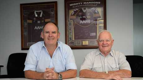 John and Geoff Murphy of J.M. Kelly (Project Builders) Pty Ltd. Picture:  Allan Reinikka / The Morning Bulletin