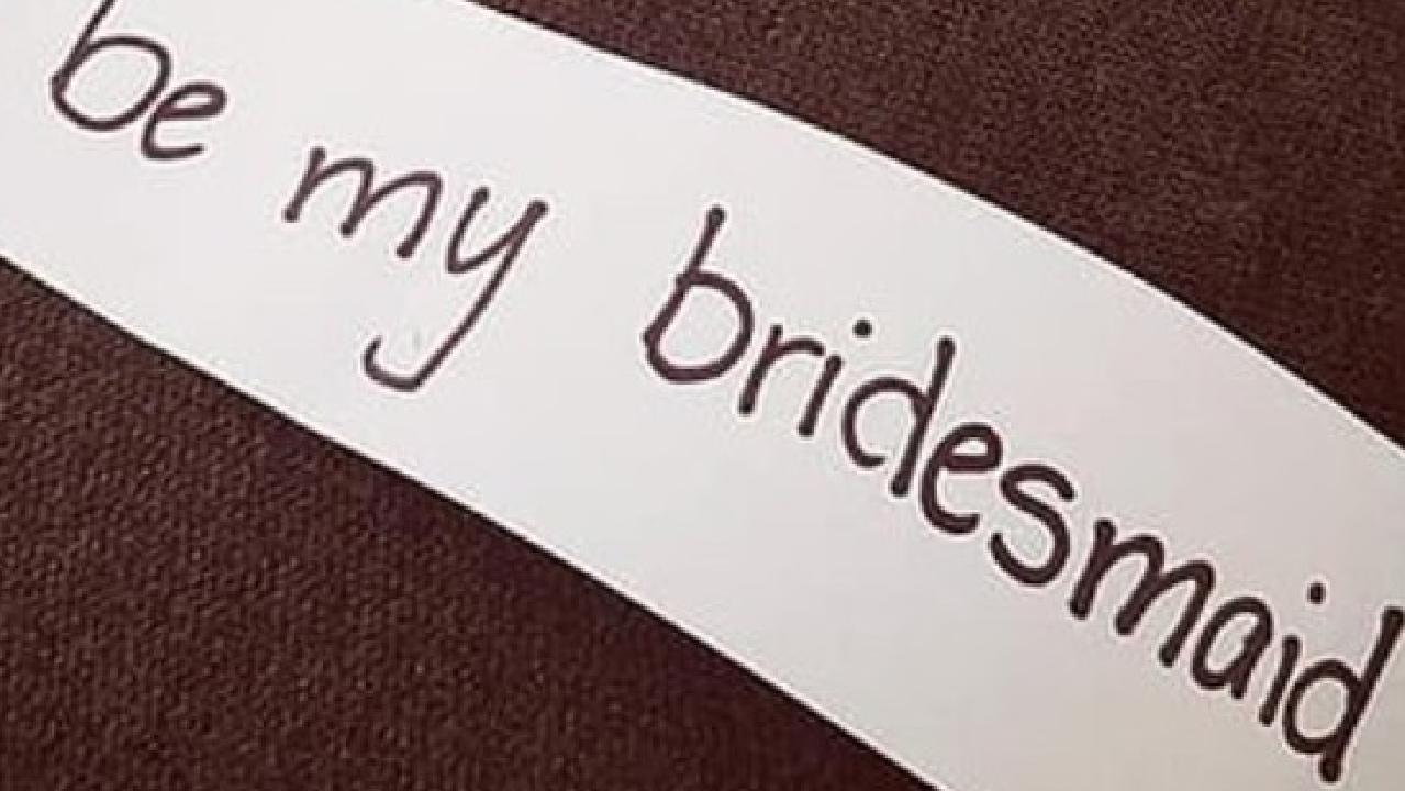 A bride-to-be has been slammed as insensitive for her approach. Picture: Daily Mail