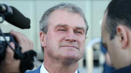 Darren Weir will not be able to return to racing until 2023. Picture: AAP