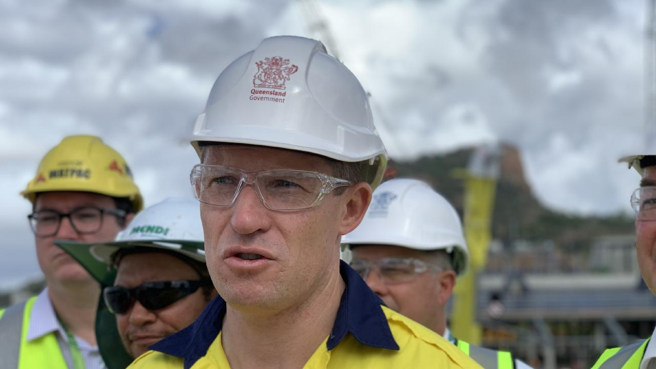 Housing and Public Works Minister Mick de Brenni has pushed for tougher legislation to crackdown on unscrupulous behaviour in the construction industry. Picture: Clare Armstrong