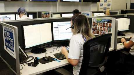 Crime Stoppers Queensland. Picture: Tara Croser