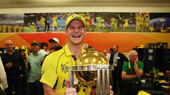 Steve Smith could be in doubt for Australia's World Cup defence.