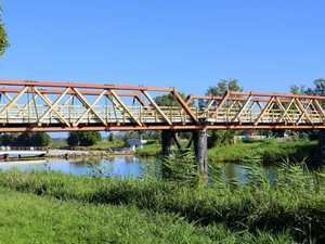 Take one last walk on the Sportsmans Creek Bridge