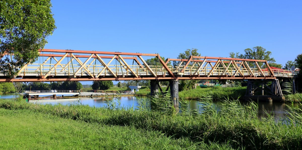 HISTORIC: The Sportsmans Creek Bridge in Lawrence will be open to the public for the last time this weekend. Photo: Ron Bloxham