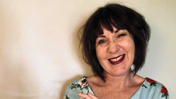 LAUGHS AHEAD: Colette Andersen is bringing her stand-up comedy show to the Central Highlands.