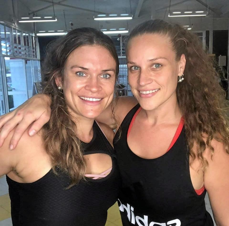 Sammy Cole and Lauren Matthews, owners of Prime Fit in Sarina.