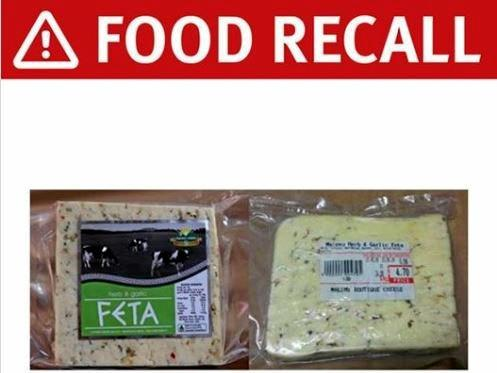 QUEENSLAND Health have alerted the public of a recall of a popular feta cheese that may contain E.coli contamination.