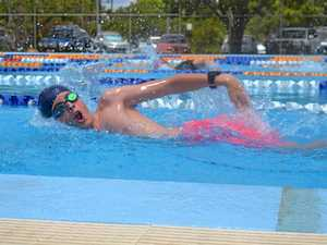 Students embrace cool change for swimming carnival