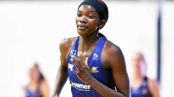 HIT GROUND RUNNING: Sunshine Coast Lightning's new recruit Phumza Maweni