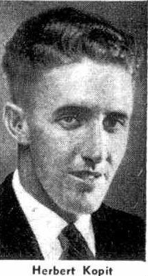Herbert Kopit was dubbed the mail train killer in 1936.