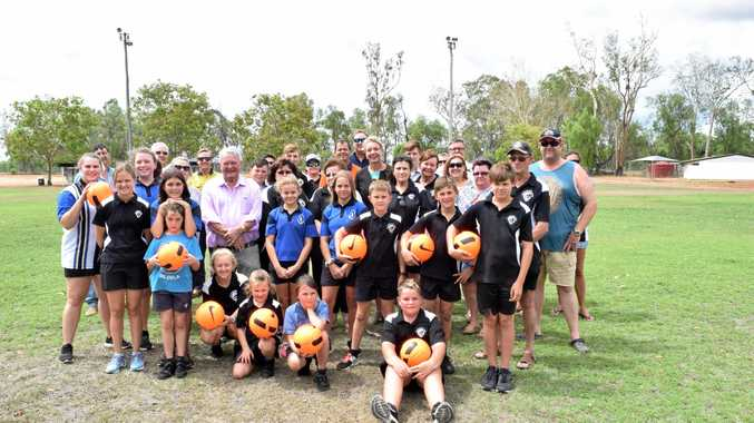 ILLUMINATING INVESTMENT: Callide United Football Club received $199,999 funding to upgrade and improve its grounds lighting facilities from Federal Member for Flynn Ken O'Dowd and Minister for Regional Services, Sport, Local Government and Decentralisation, Senator Bridget McKenzie.