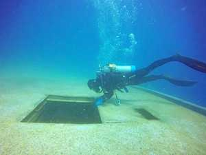 Weather delays opening of Tobruk dive site