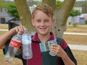 12-year-old making big bucks from recycling scheme