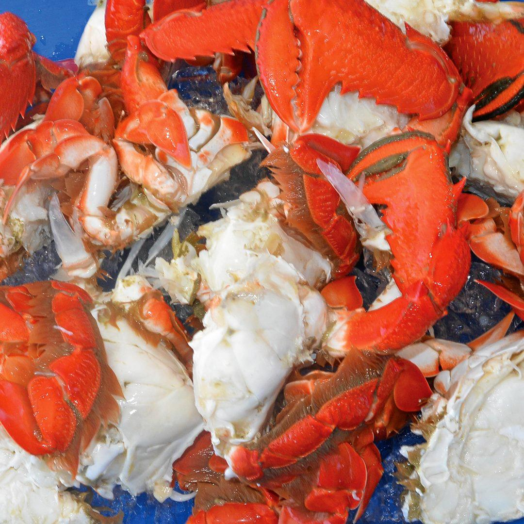 A former fisherman turned to crime after the spanner crab season wound up early.