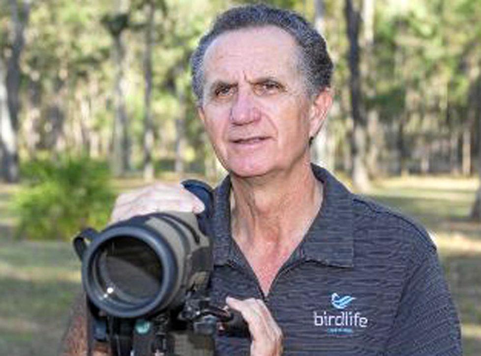 BIRD WORD: The Observer's new columnist Allan Briggs.