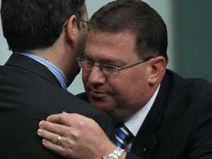 MP's hug: Did he have to let it linger?