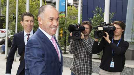 National Australia Bank CEO Andrew Thorburn has also announced his resignation.