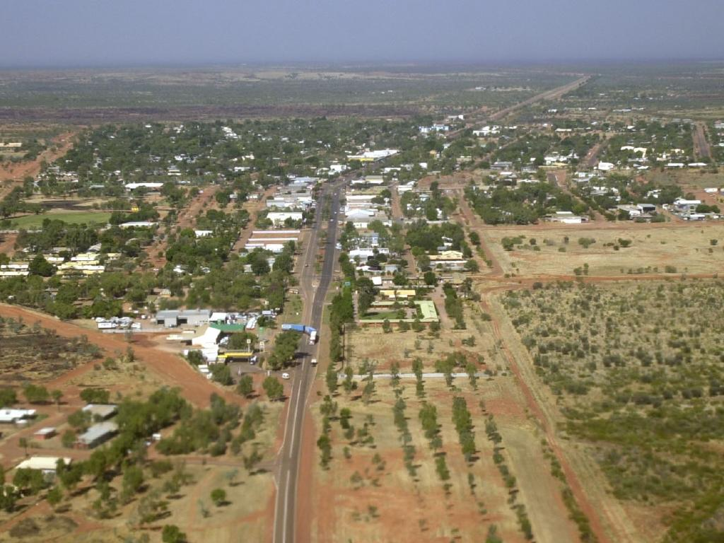 Tennant Creek has a population about 3,000. It is 500km north of Alice Springs.
