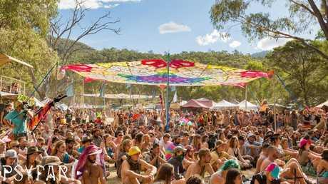 Bush doof Psyfari festival. Picture: Facebook
