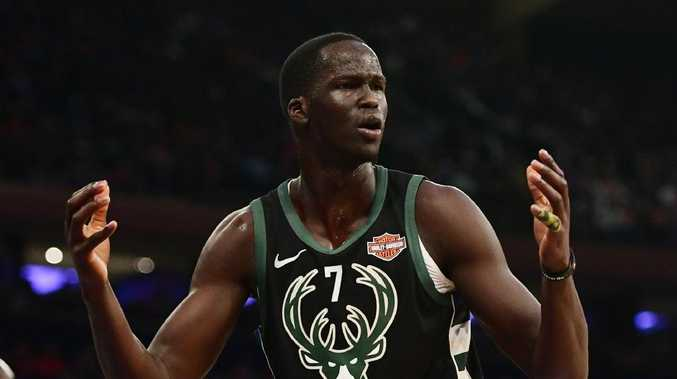 Thon Maker is joining the Pistons. Sarah Stier/Getty Images/AFP