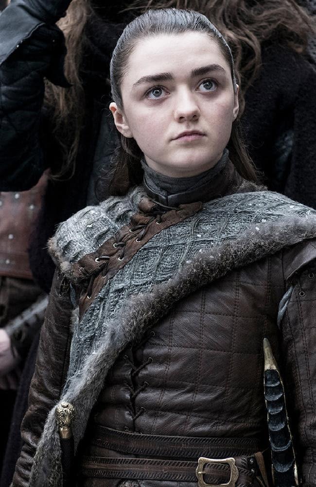 Arya Stark. Picture: HBO/Helen Sloan
