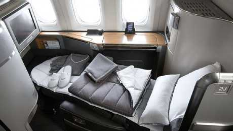 This is what your favourite Hollywood star is probably enjoying during their flight. Picture: American Airlines