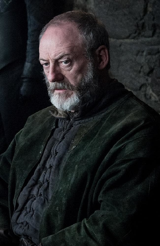 Ser Davos Seaworth. Picture: HBO/Helen Sloan