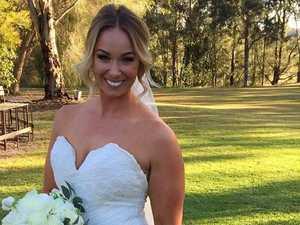 Woman's incredible $15 wedding dress hack