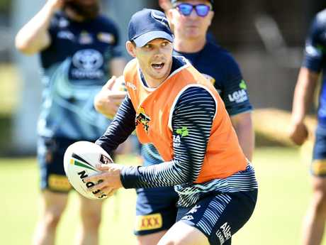 Ben Hampton. NRL; North Queensland Cowboys pre-season training at Townsville Sports Reserve.