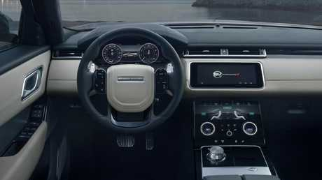 The SVAutobiography interior is coated in soft touch materials.