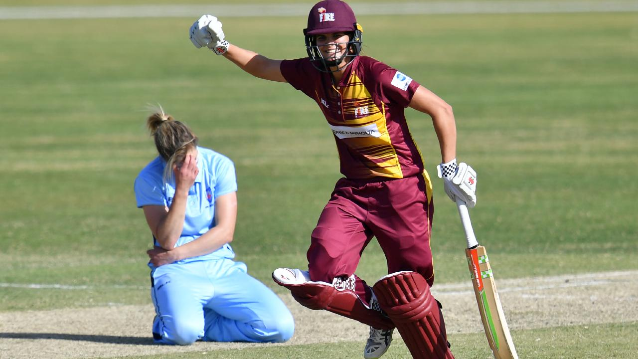 Queensland got the win over NSW earlier in the season, now the two contest the WNCL final. Pic: AAP