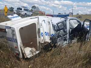 Cop Crash: 'Prisoner would have died'