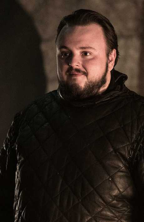 Samwell Tarly. Picture: HBO/Helen Sloan