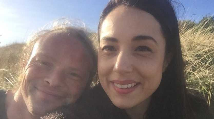 Natalie Borg, 36, and Richard McMurray, 37, have asked for guests to help pay for their wedding in lieu of gifts and have copped a huge backlash on GoFundMe. Picture: GoFundMe
