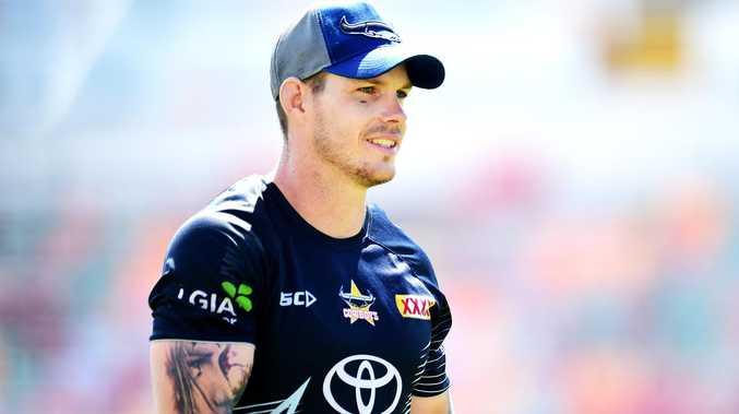 Ben Hampton. NRL; North Queensland Cowboys pre-season training at 1300 Smiles Stadium. Picture: Alix Sweeney
